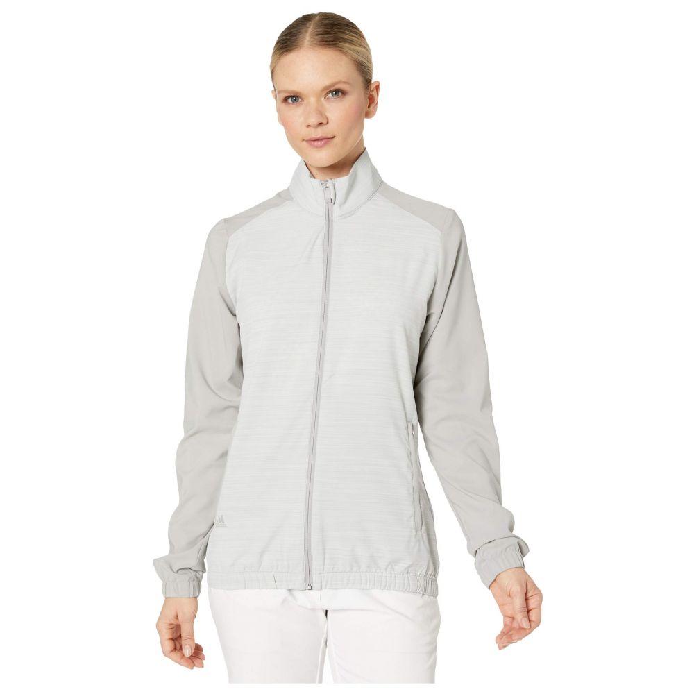 アディダス adidas Golf レディース ジャケット ウィンドブレーカー アウター【Essentials Wind Jacket】Medium Solid Grey