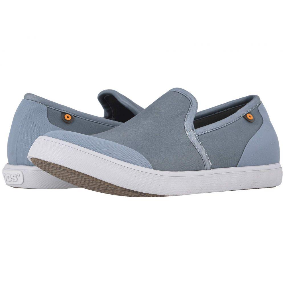 ボグス Bogs レディース スニーカー シューズ・靴【Kicker Loafer】Stone Blue