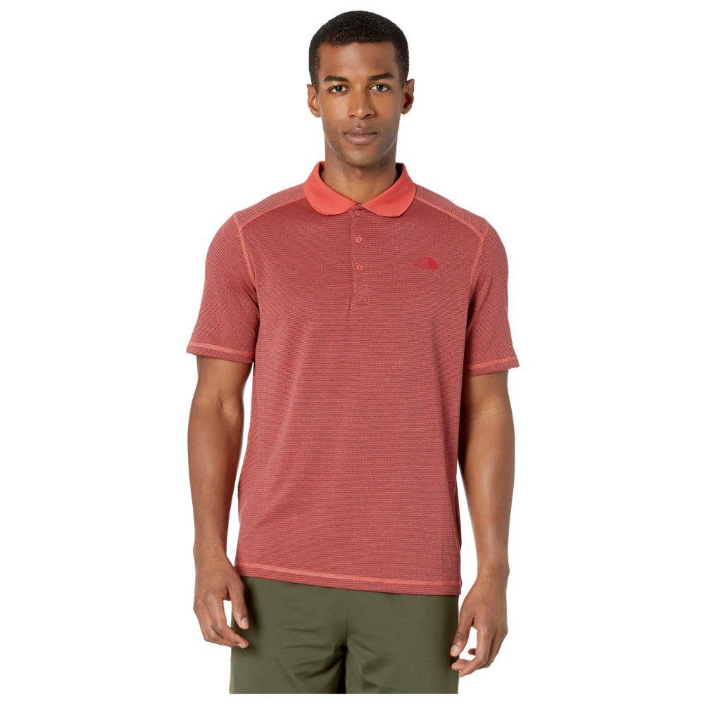 ザ ノースフェイス The North Face メンズ ポロシャツ 半袖 トップス【Short Sleeve Horizon Polo】Sunbaked Red Stripe