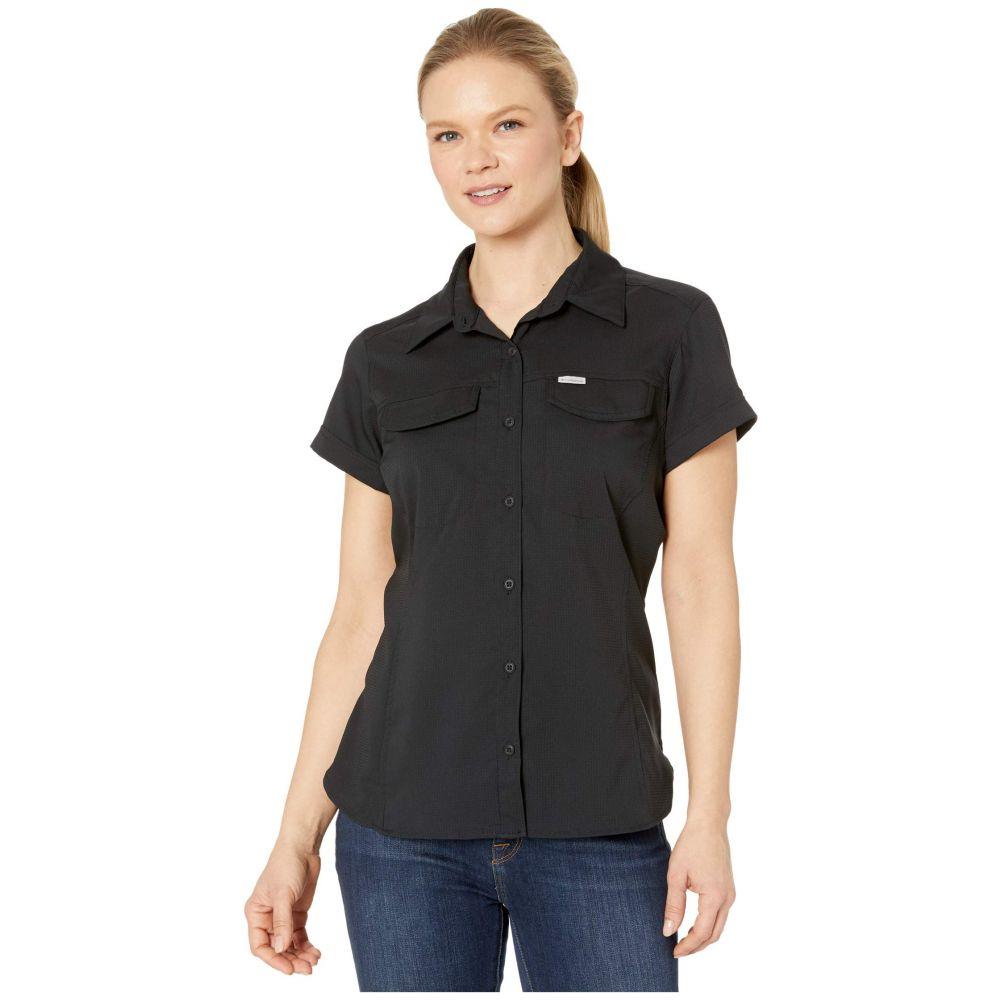 コロンビア Columbia レディース ブラウス・シャツ トップス【Silver Ridge(TM) Lite Short Sleeve Shirt】Black