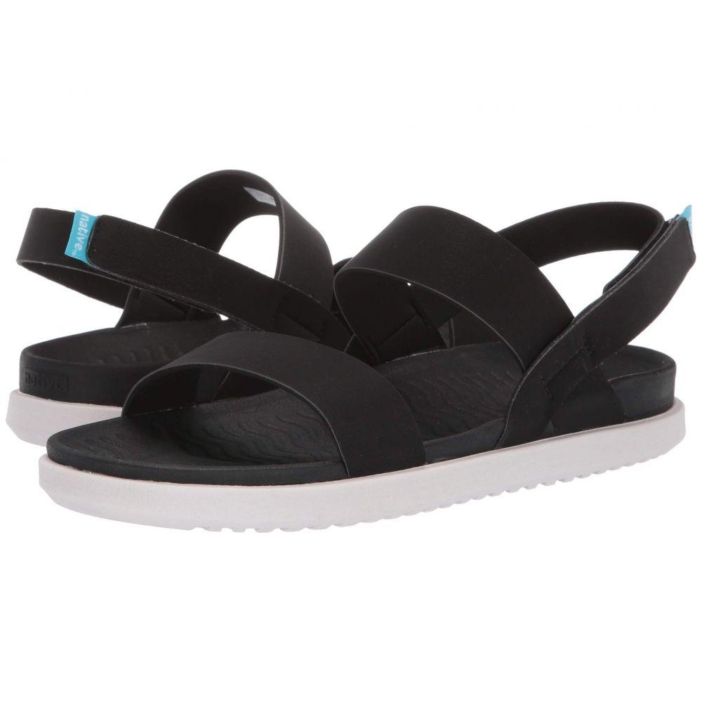 ネイティブ シューズ Native Shoes レディース サンダル・ミュール シューズ・靴【Ellis】Jiffy Black/Cloud Grey