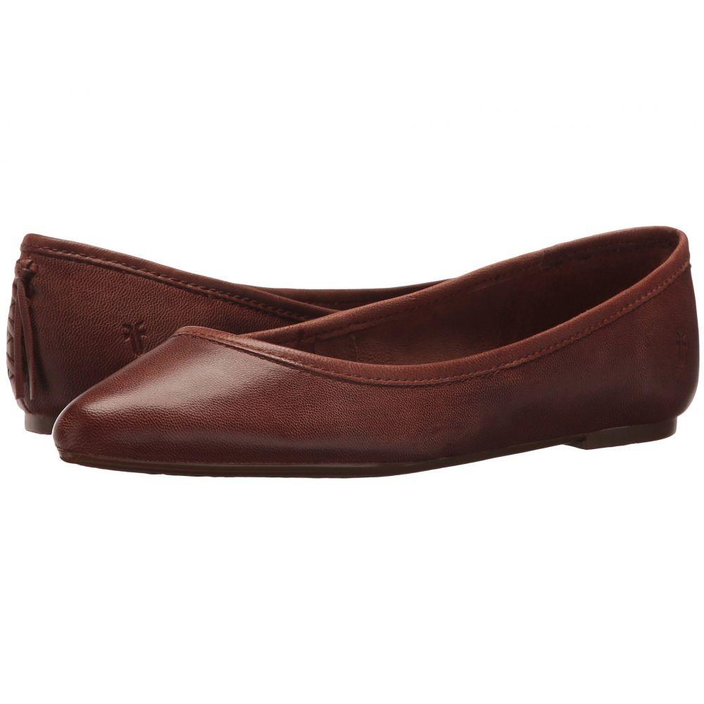 フライ Frye レディース スリッポン・フラット シューズ・靴【Regina Ballet】Cognac