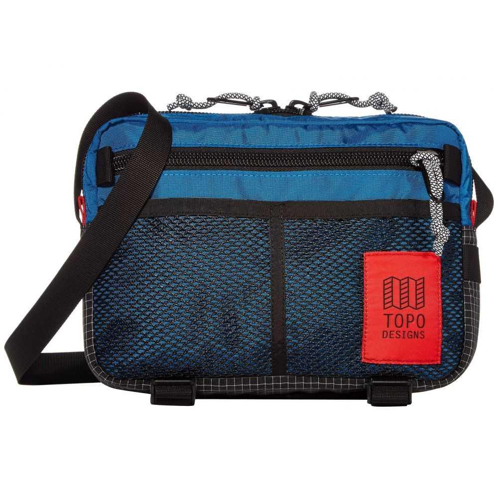 トポ デザイン Topo Designs レディース ショルダーバッグ バッグ【Block Bag】Blue