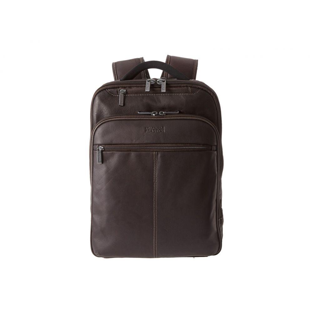 ケネス コール Kenneth Cole Reaction レディース バックパック・リュック バッグ【Back-Stage Access Colombian Leather Computer Backpack】Brown