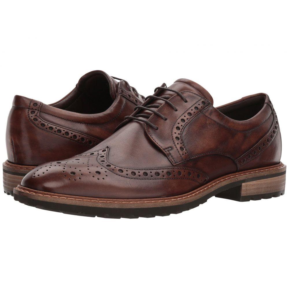 エコー ECCO メンズ 革靴・ビジネスシューズ ウイングチップ シューズ・靴【Vitrus I Wingtip Tie】Nature
