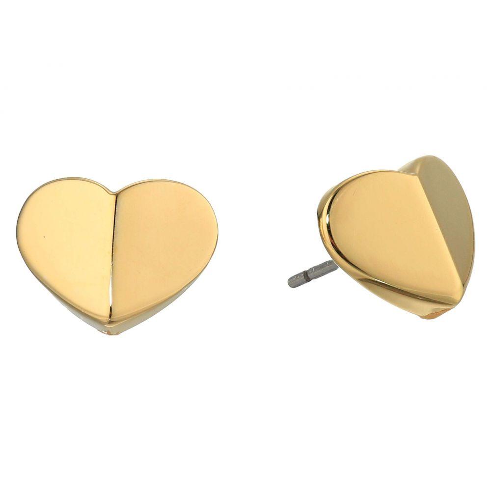 ケイト スペード Kate Spade New York レディース イヤリング・ピアス ハート ジュエリー・アクセサリー【Heritage Spade Small Heart Studs Earrings】