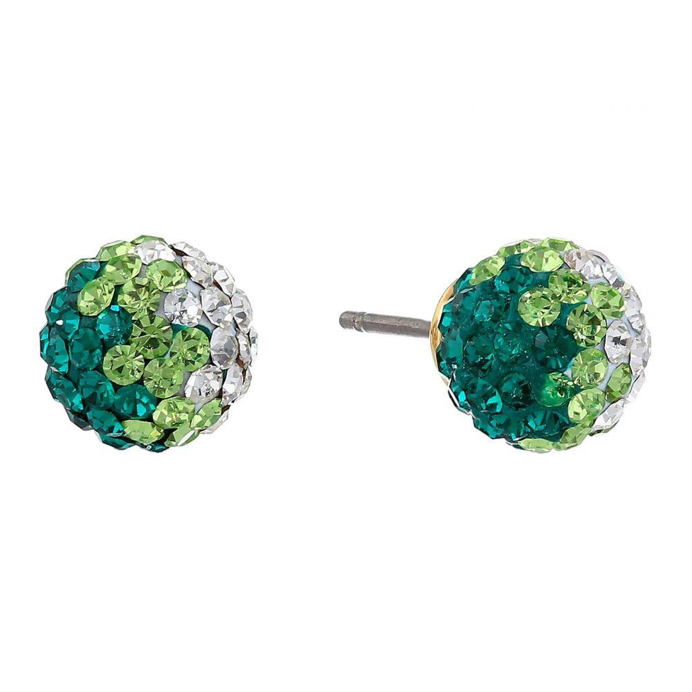 ケイト スペード Kate Spade New York レディース イヤリング・ピアス ジュエリー・アクセサリー【Brilliant Statements Mini Studs Earrings】Green Multi