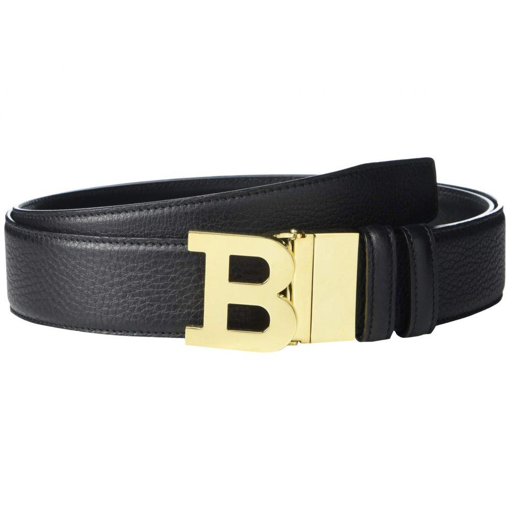 バリー Bally メンズ ベルト 【B Buckle 40 M/490 Adjustable/Reversible Belt】Black