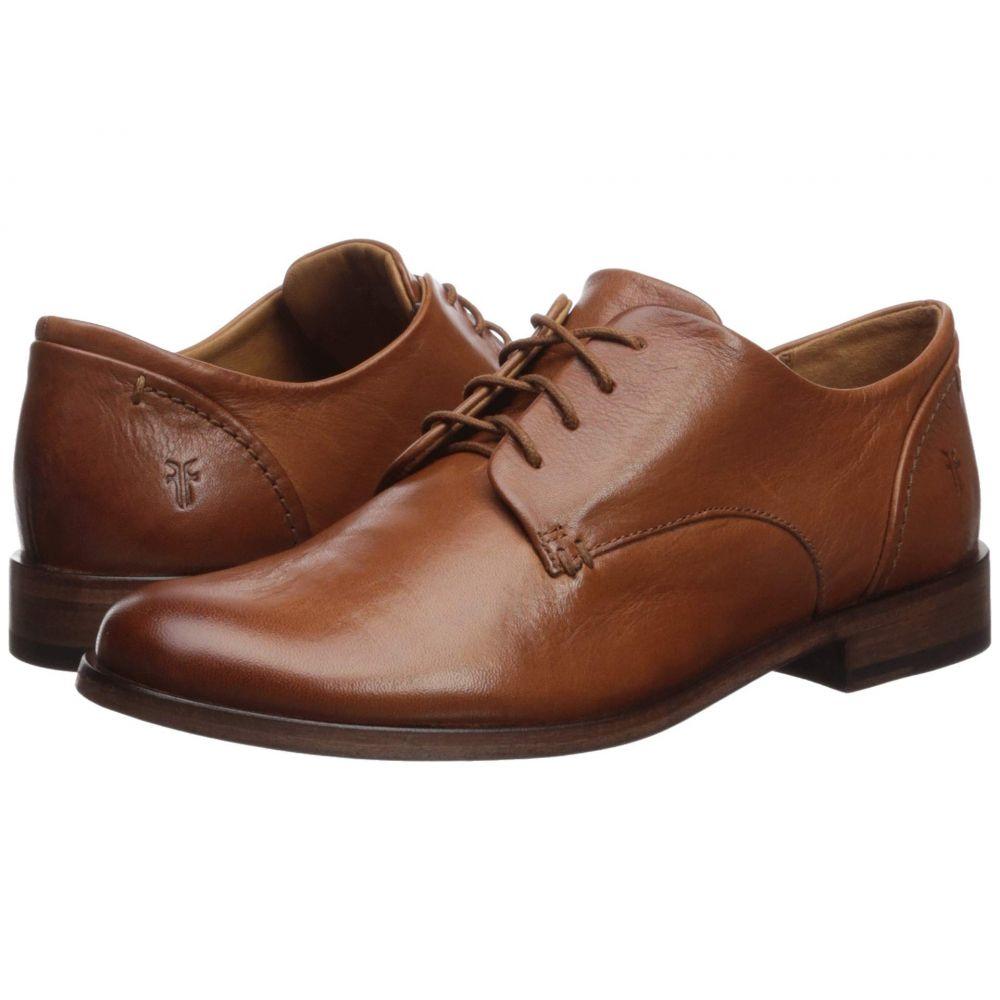 フライ Frye レディース ローファー・オックスフォード シューズ・靴【Elyssa Oxford】Cognac Waxed Full Grain