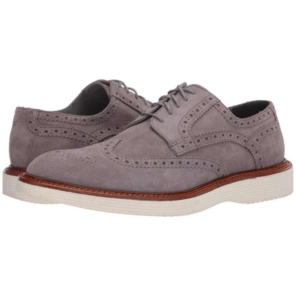 トラスク Trask メンズ 革靴・ビジネスシューズ シューズ・靴【Rogan】Light Gray Itlalian Suede