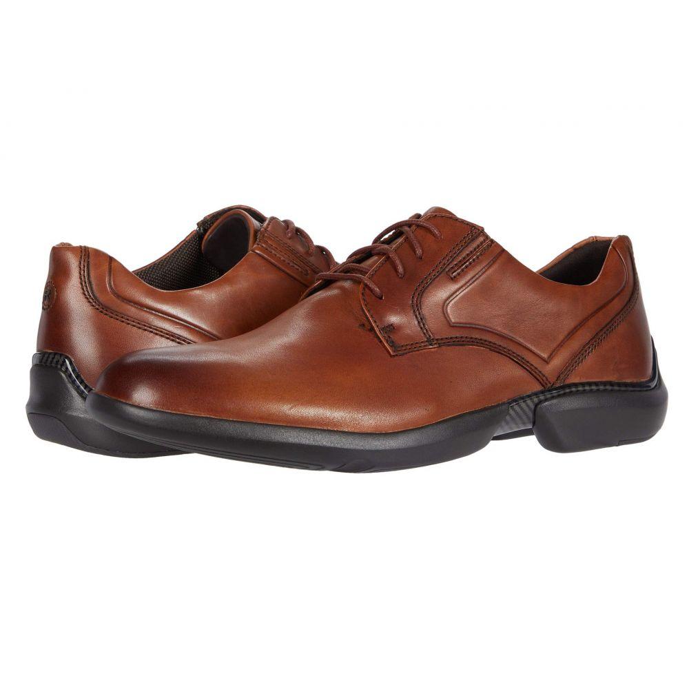 ロックポート Rockport メンズ 革靴・ビジネスシューズ シューズ・靴【Total Motion Advance Plain Toe】Cognac