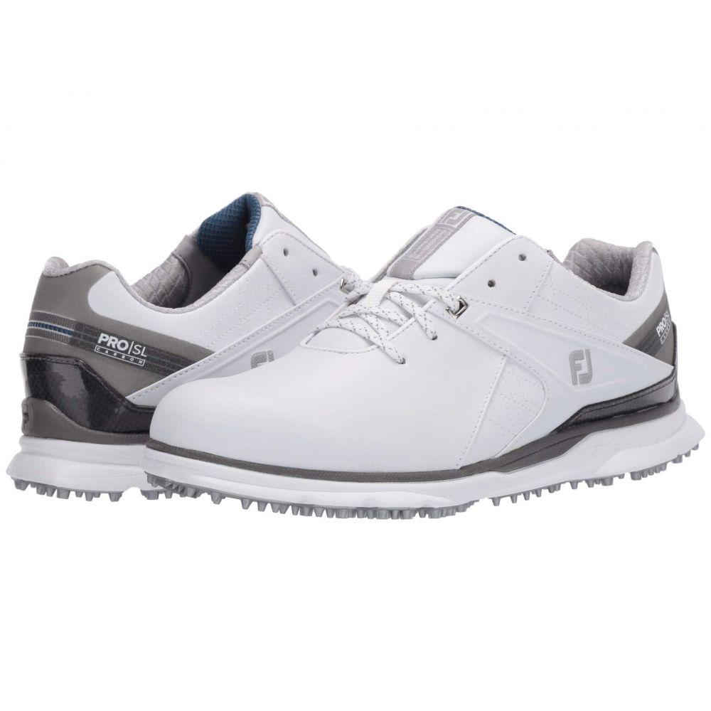 フットジョイ FootJoy メンズ ゴルフ シューズ・靴【Pro SL Carbon】White