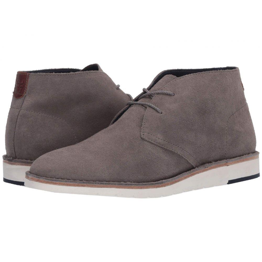 トラスク Trask メンズ ブーツ シューズ・靴【Bardon】Gray English Suede