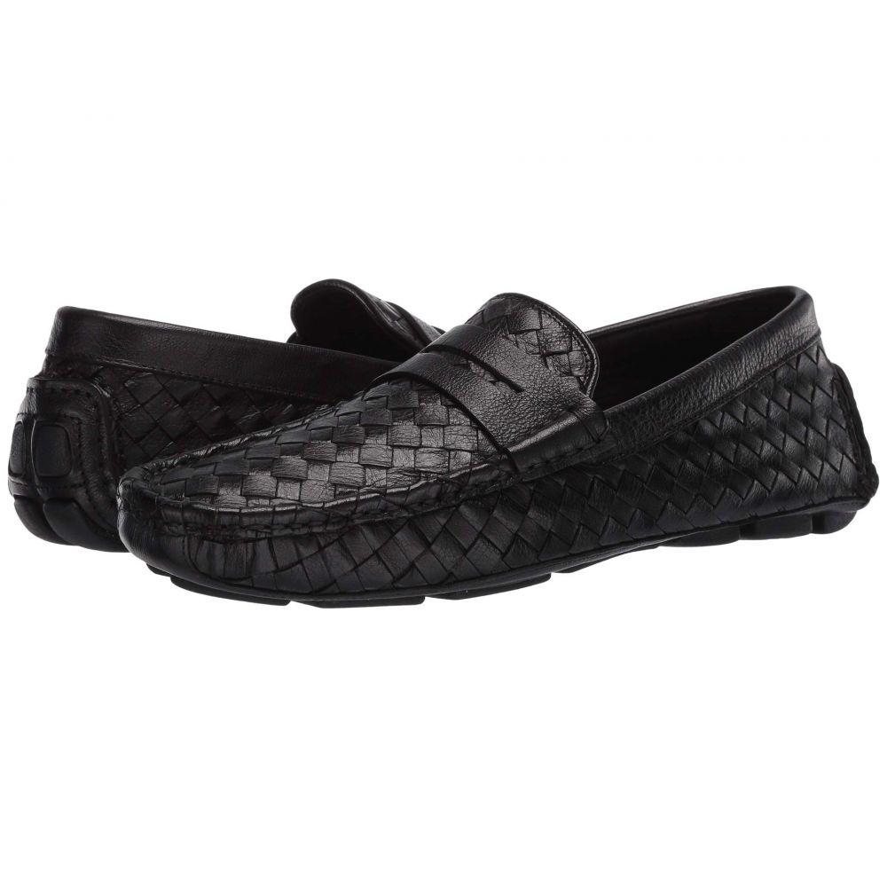 トラスク Trask メンズ ローファー シューズ・靴【Rowan】Black Italian Buffalo Calfskin