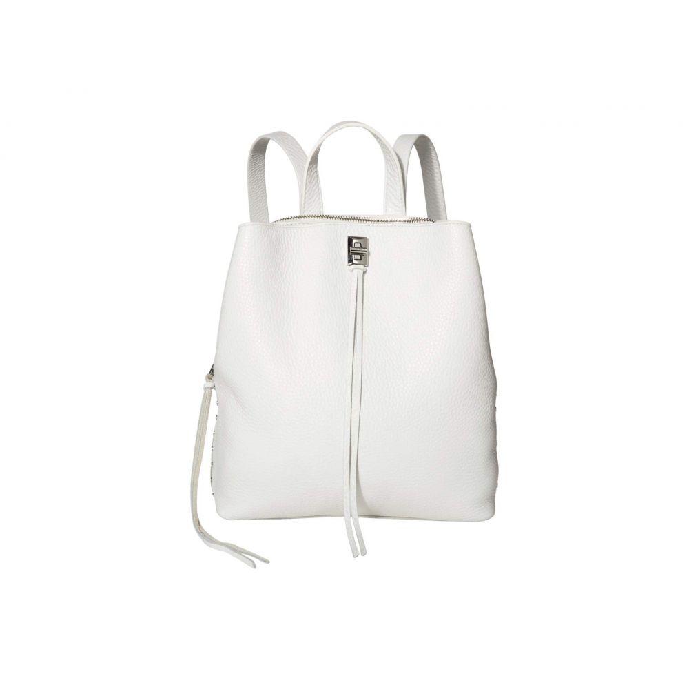 レベッカ ミンコフ Rebecca Minkoff レディース バックパック・リュック バッグ【Darren Medium Backpack】Optic White