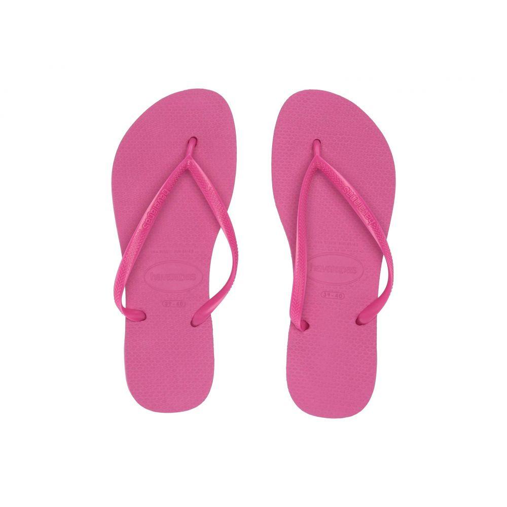 ハワイアナス Havaianas レディース ビーチサンダル シューズ・靴【Slim Flip Flops】Hollywood Rose