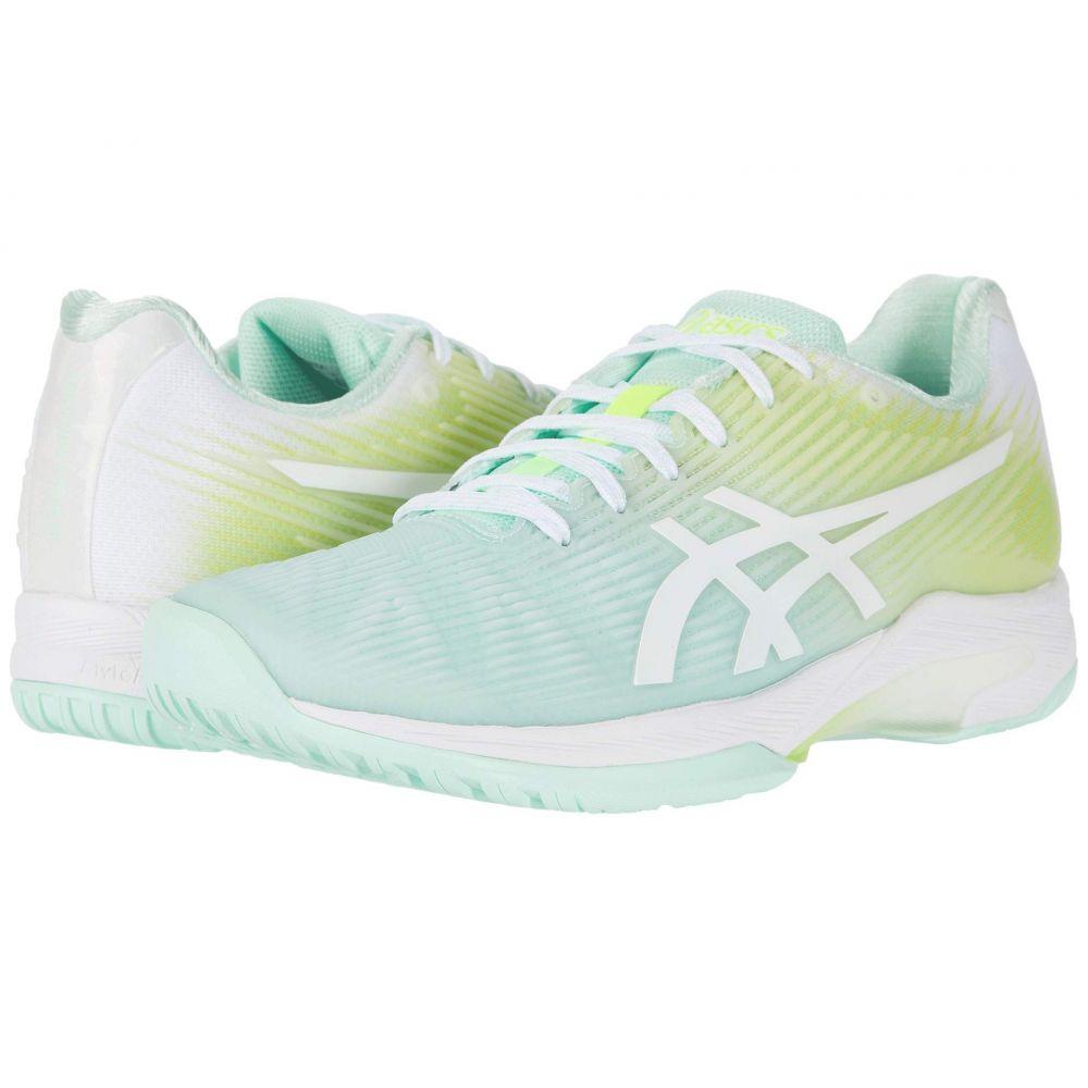 アシックス ASICS レディース テニス シューズ・靴【Solution Speed FF】Mint Tint/White