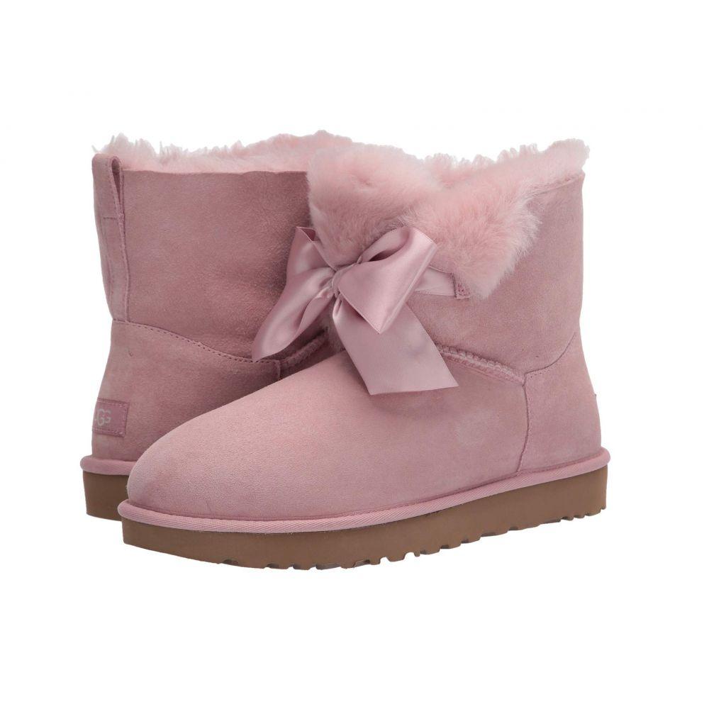 アグ UGG レディース ブーツ シューズ・靴【Gita Bow Mini Boot】Pink Crystal