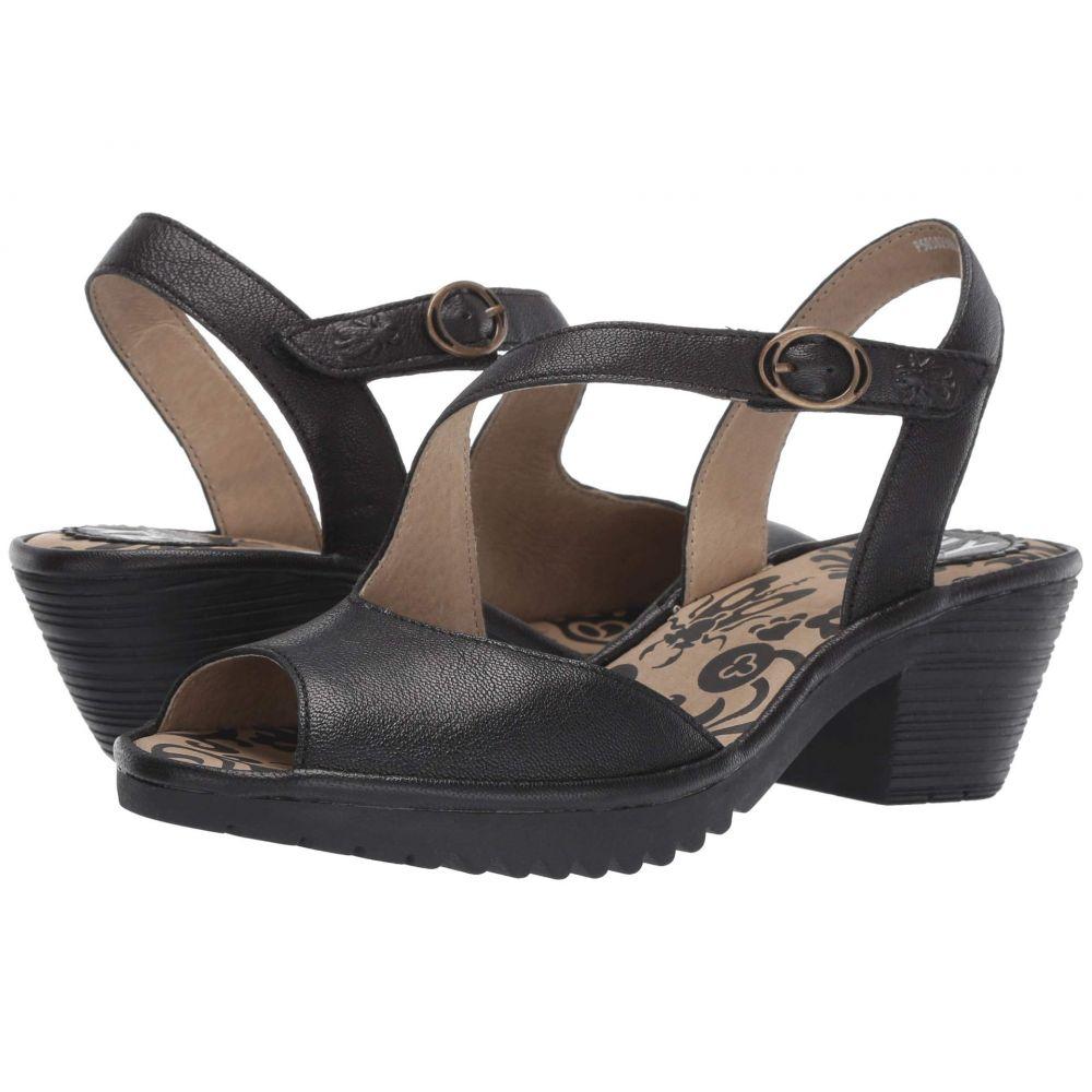 フライロンドン FLY LONDON レディース サンダル・ミュール シューズ・靴【WYNO023FLY】Black Mousse