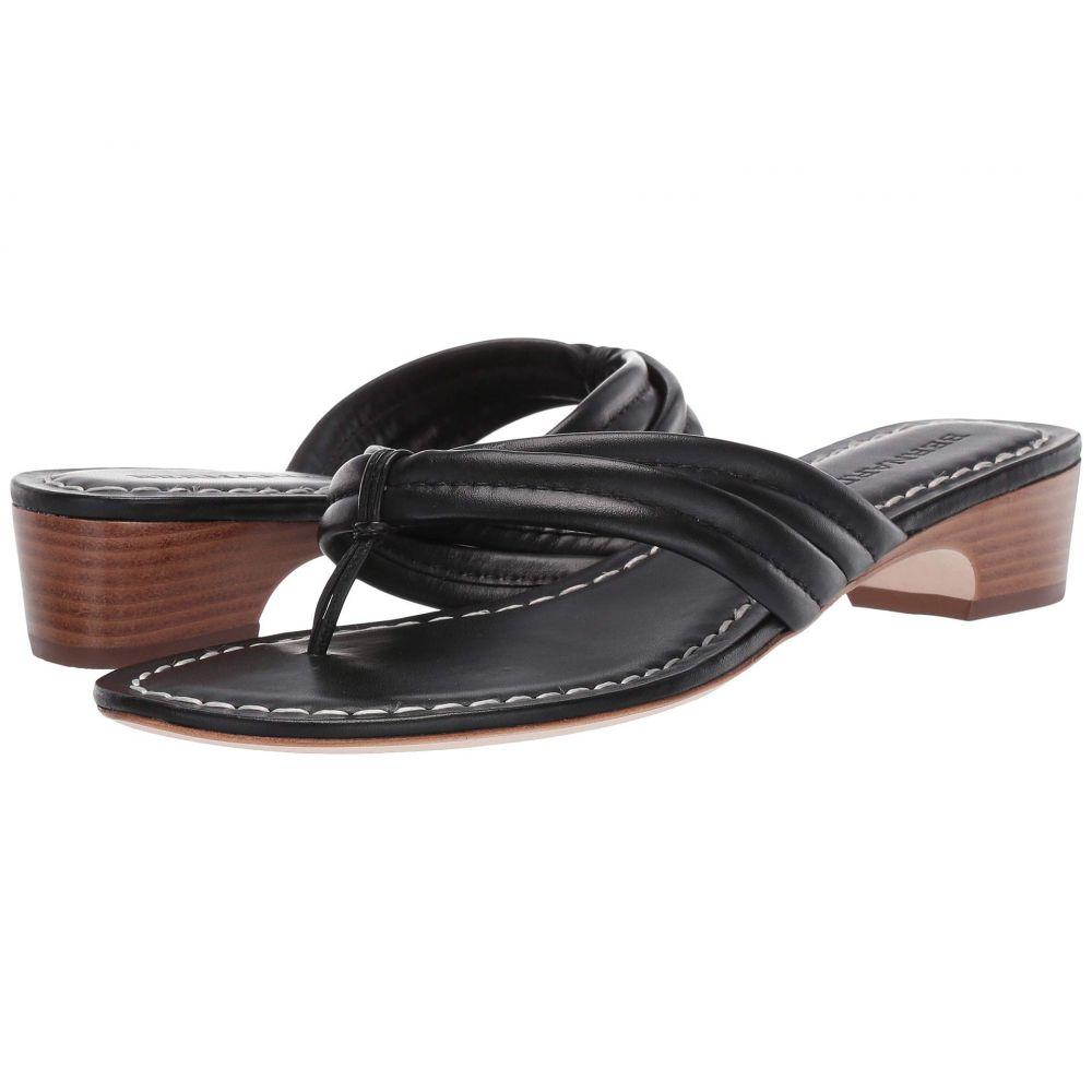 ベルナルド Bernardo レディース ビーチサンダル シューズ・靴【Miami Demi Heel Sandals】Black Antique Calf