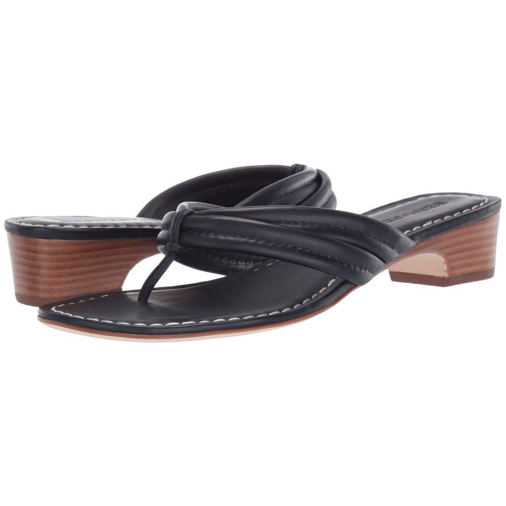 ベルナルド Bernardo レディース ビーチサンダル シューズ・靴【Miami Demi Heel Sandals】Navy Antique Calf
