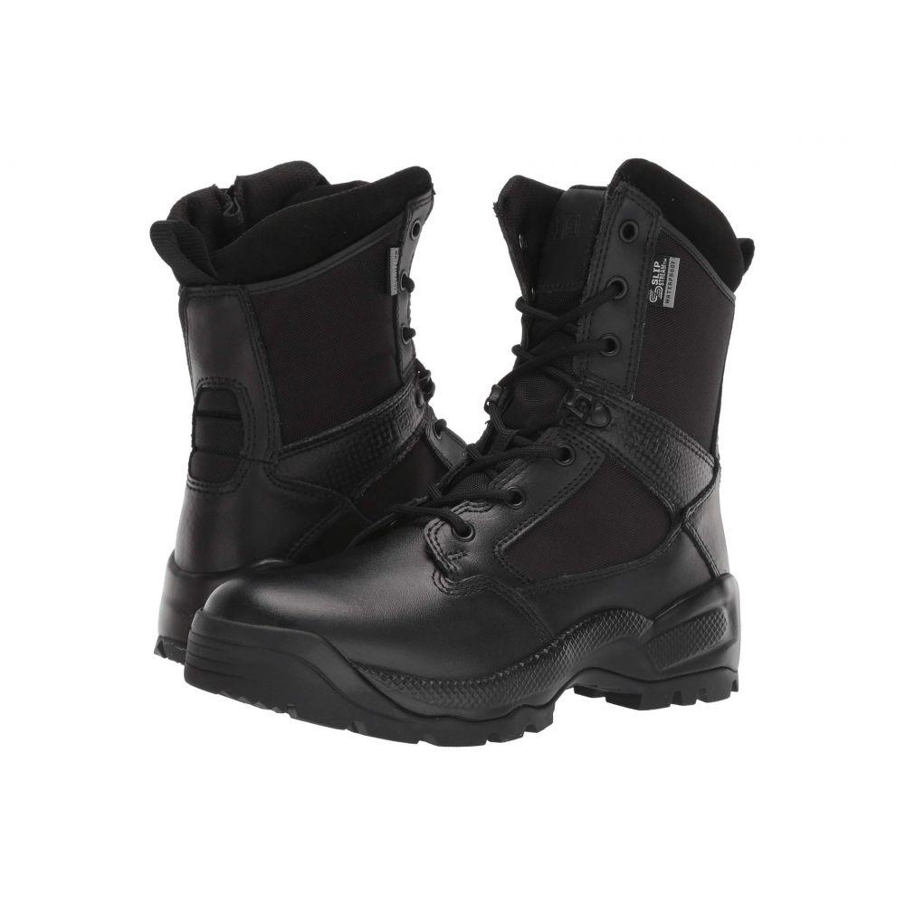 5.11 タクティカル 5.11 Tactical レディース ブーツ シューズ・靴【8' ATAC 2.0 Storm Side Zip】Black