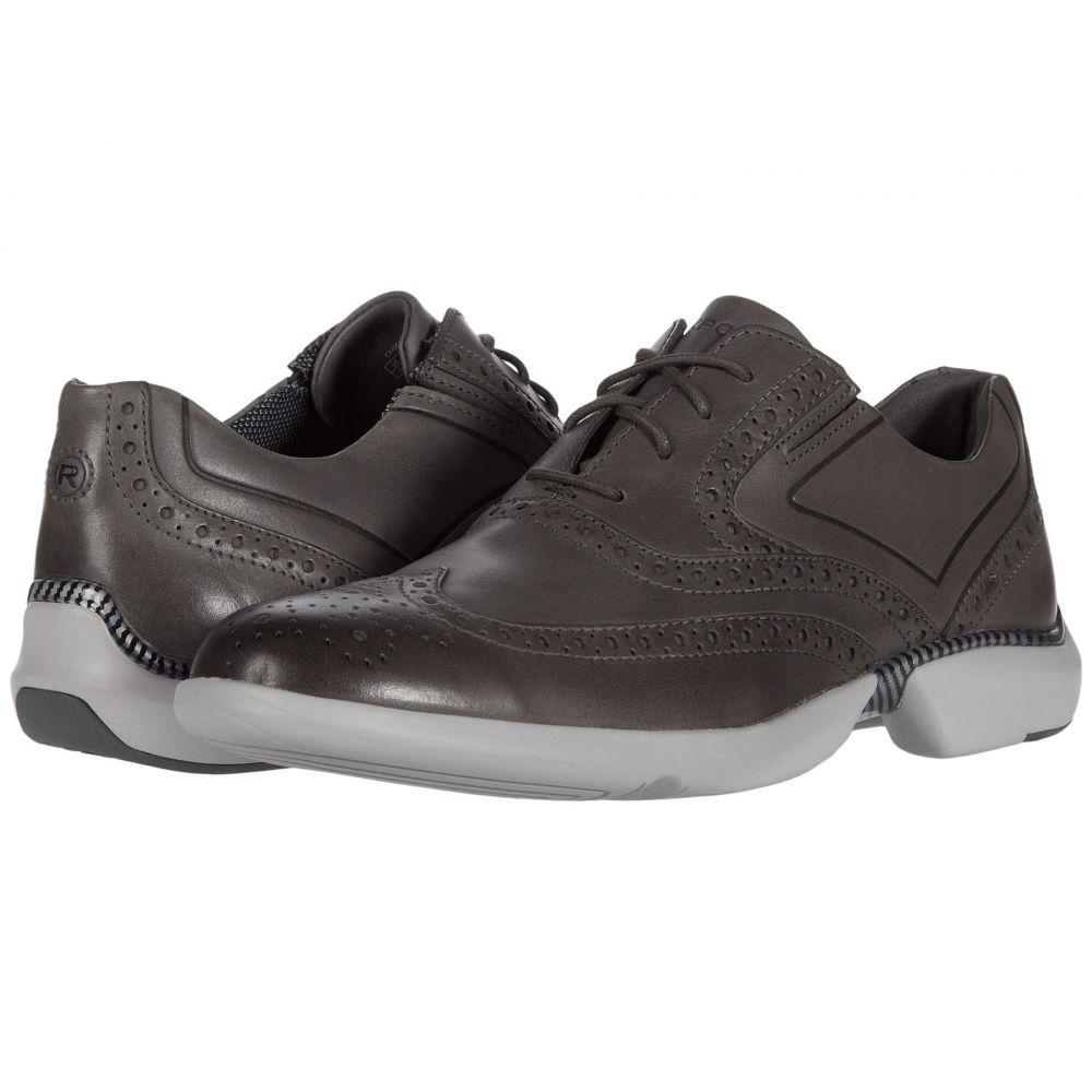 ロックポート Rockport メンズ 革靴・ビジネスシューズ ウイングチップ シューズ・靴【Total Motion Advance Wing Tip】Steel Grey