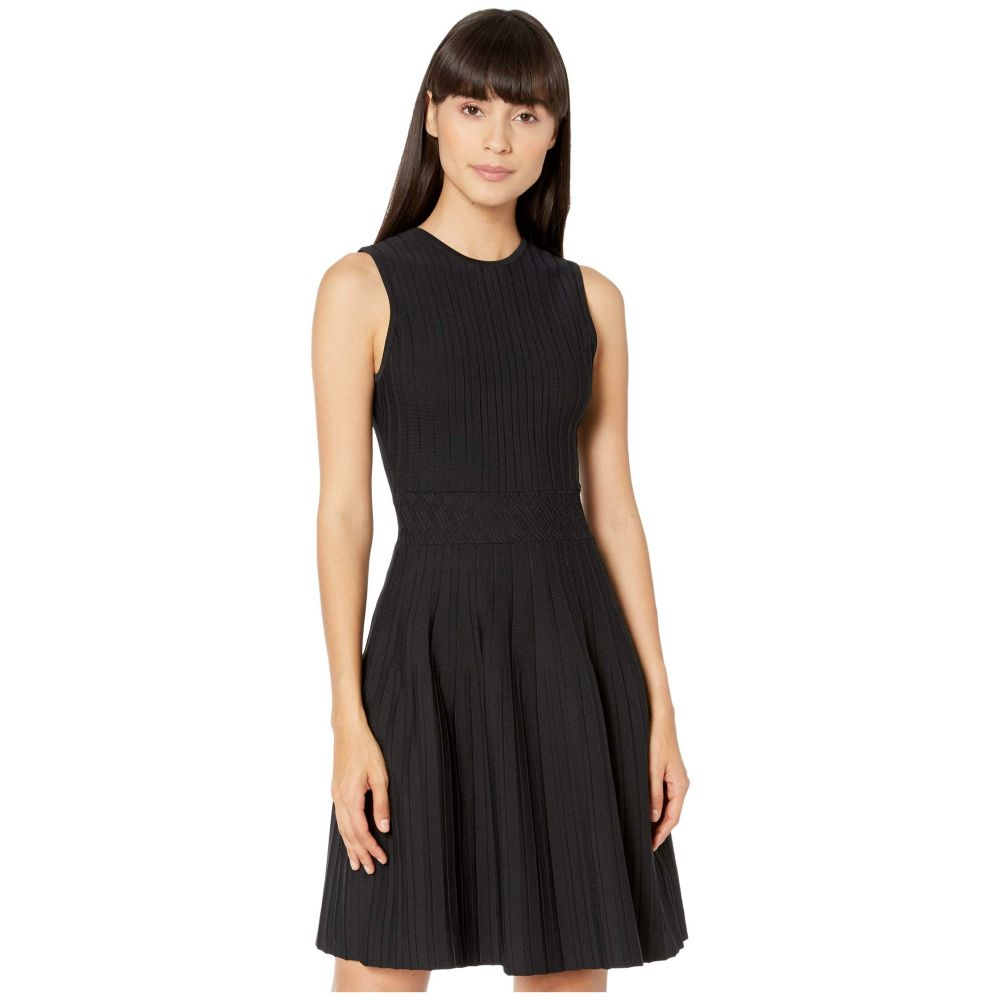 テッドベーカー Ted Baker レディース ワンピース ノースリーブ ワンピース・ドレス【Stitch Detail Knitted Sleeveless Dress】Black