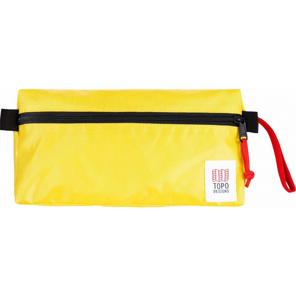 トポ デザイン Topo Designs レディース ポーチ 【Travel Toiletry Kit】Yellow/Yellow