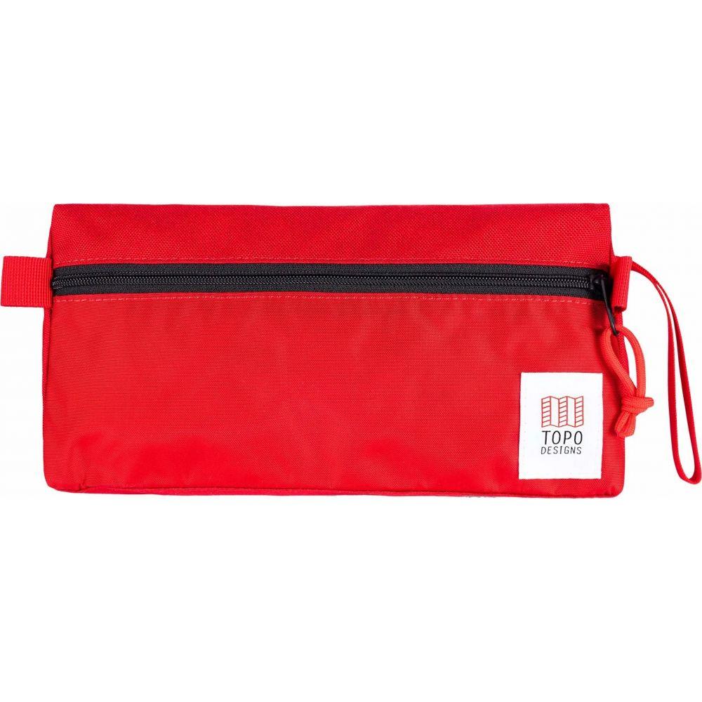 トポ デザイン Topo Designs レディース ポーチ 【Travel Toiletry Kit】Red/Red