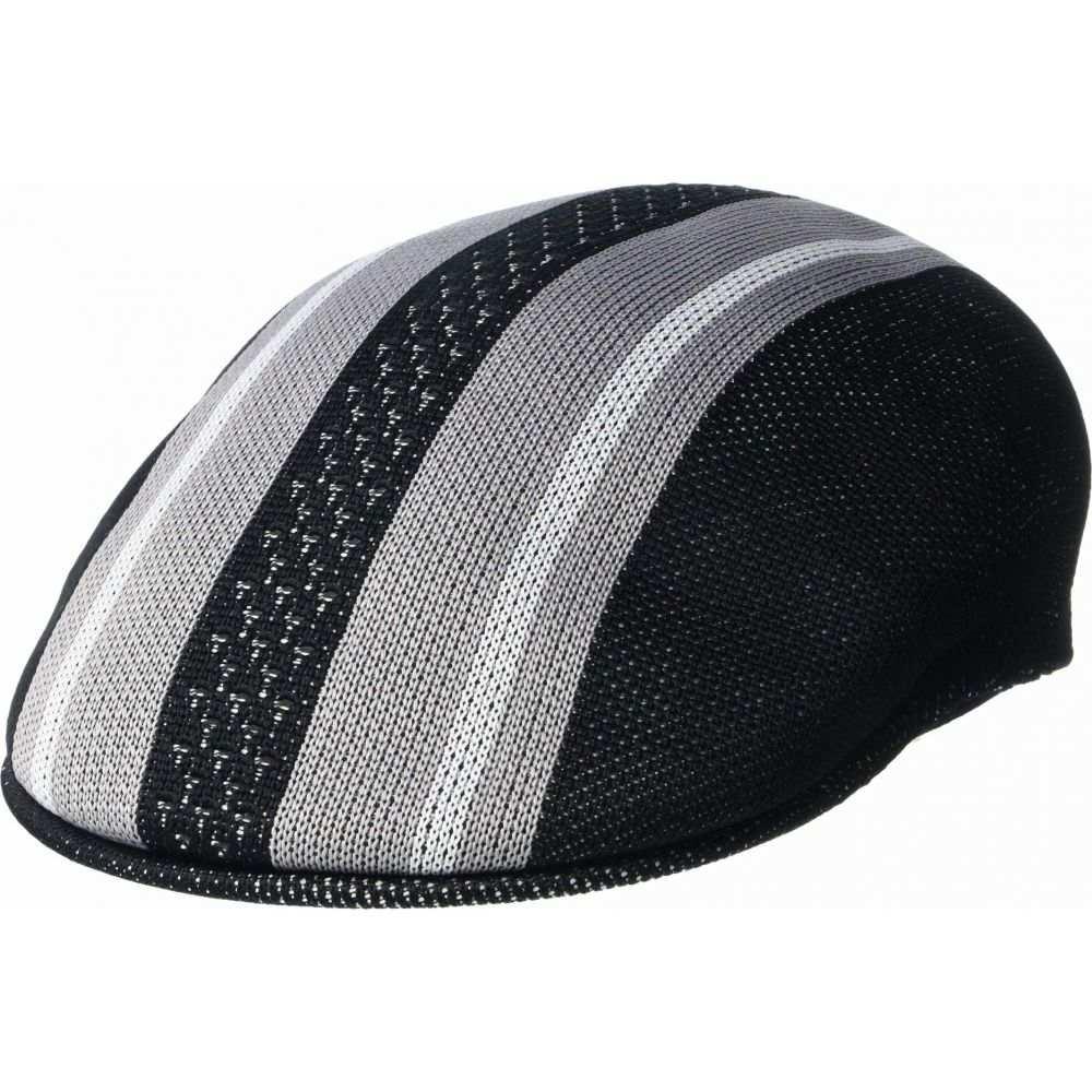 カンゴール Kangol レディース 帽子 【Vented Stripes 504】Black