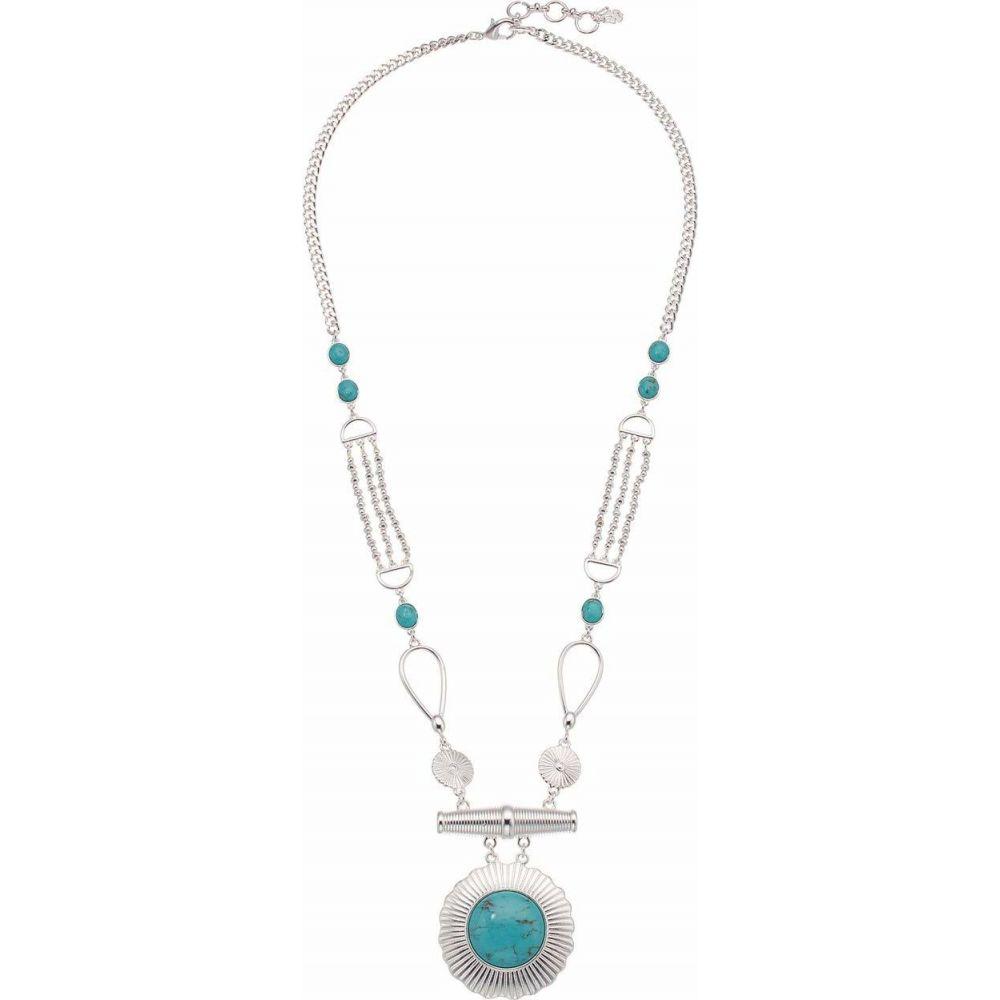 ラッキーブランド Lucky Brand レディース ネックレス ジュエリー・アクセサリー【Reversible Turquoise Statement Necklace】