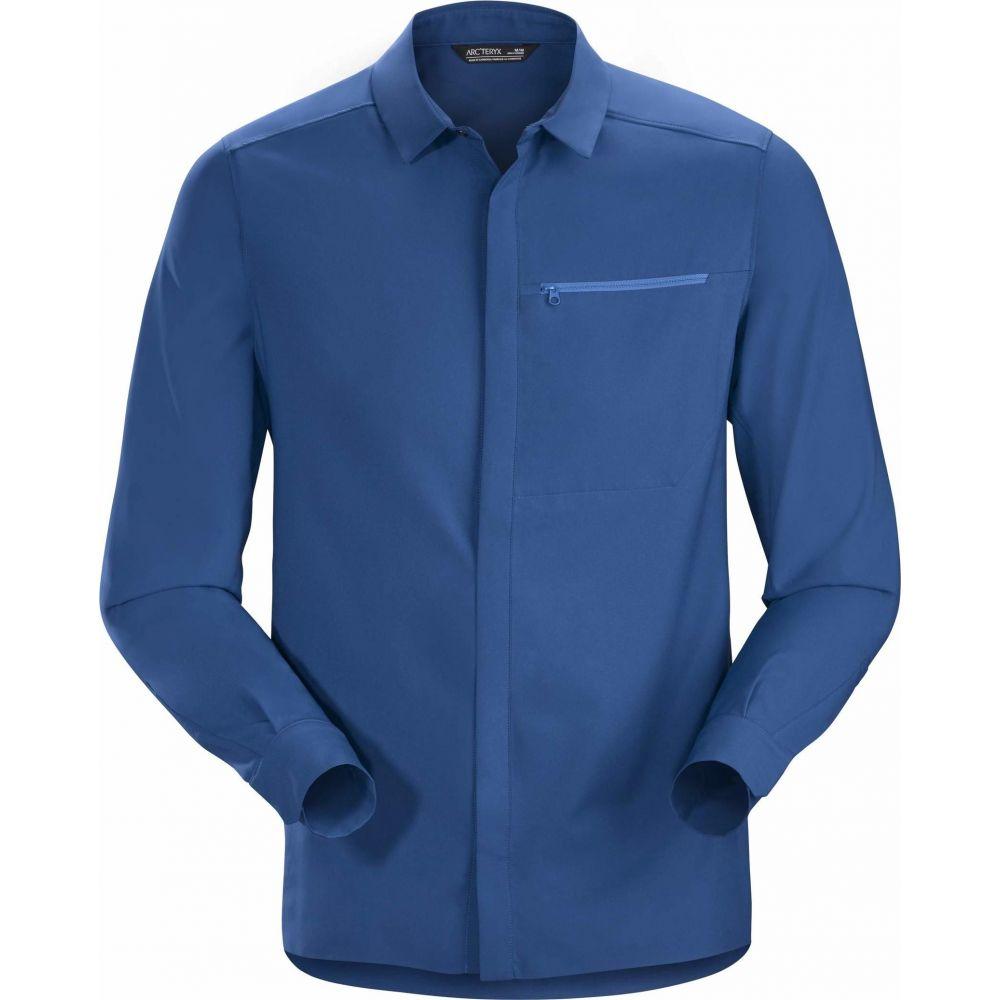 アークテリクス Arc'teryx メンズ シャツ トップス【Skyline Long Sleeve Shirt】Cobalt Sun