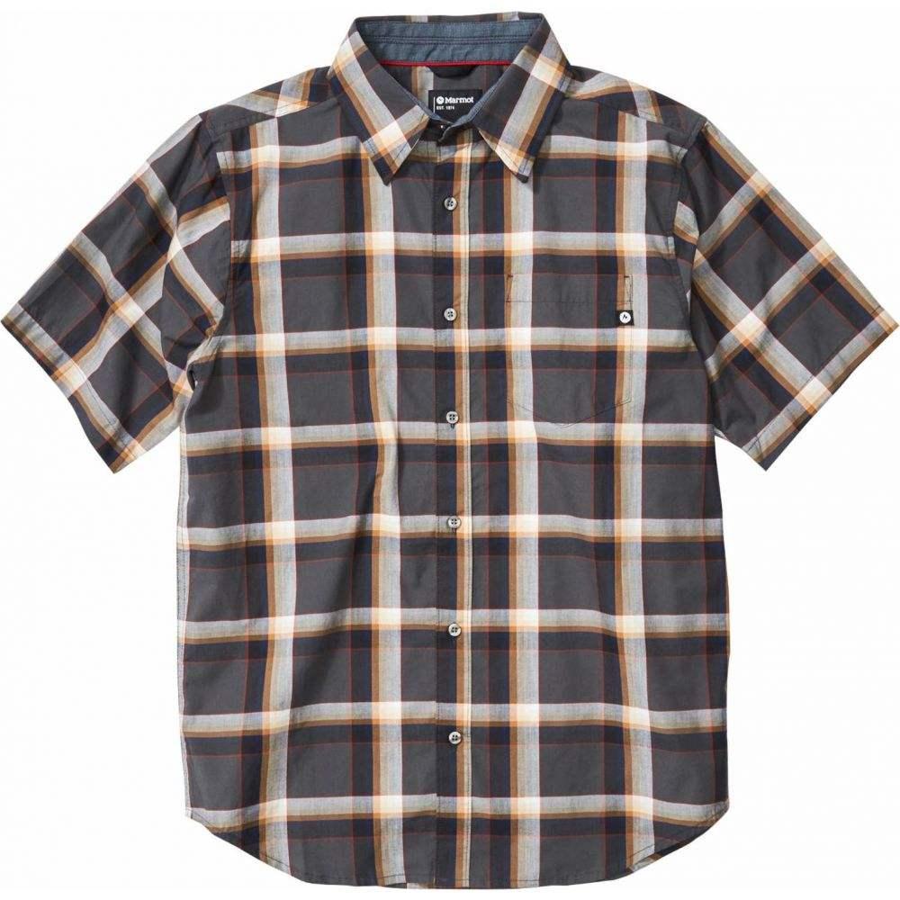 マーモット Marmot メンズ 半袖シャツ トップス【Meeker Short Sleeve Shirt】Dark Steel