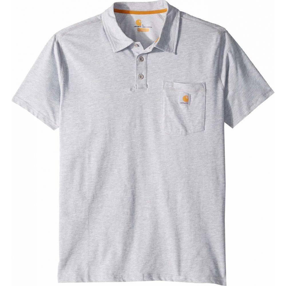 カーハート Carhartt メンズ ポロシャツ トップス【Force Cotton Delmont Pocket Polo】Heather Gray