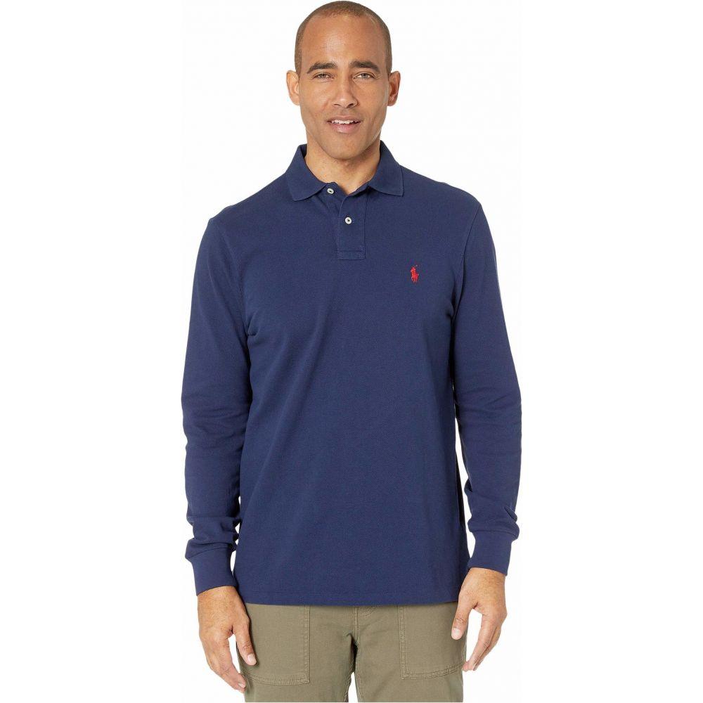 ラルフ ローレン Polo Ralph Lauren メンズ ポロシャツ トップス【Classic Fit Long-Sleeve Polo】Blue