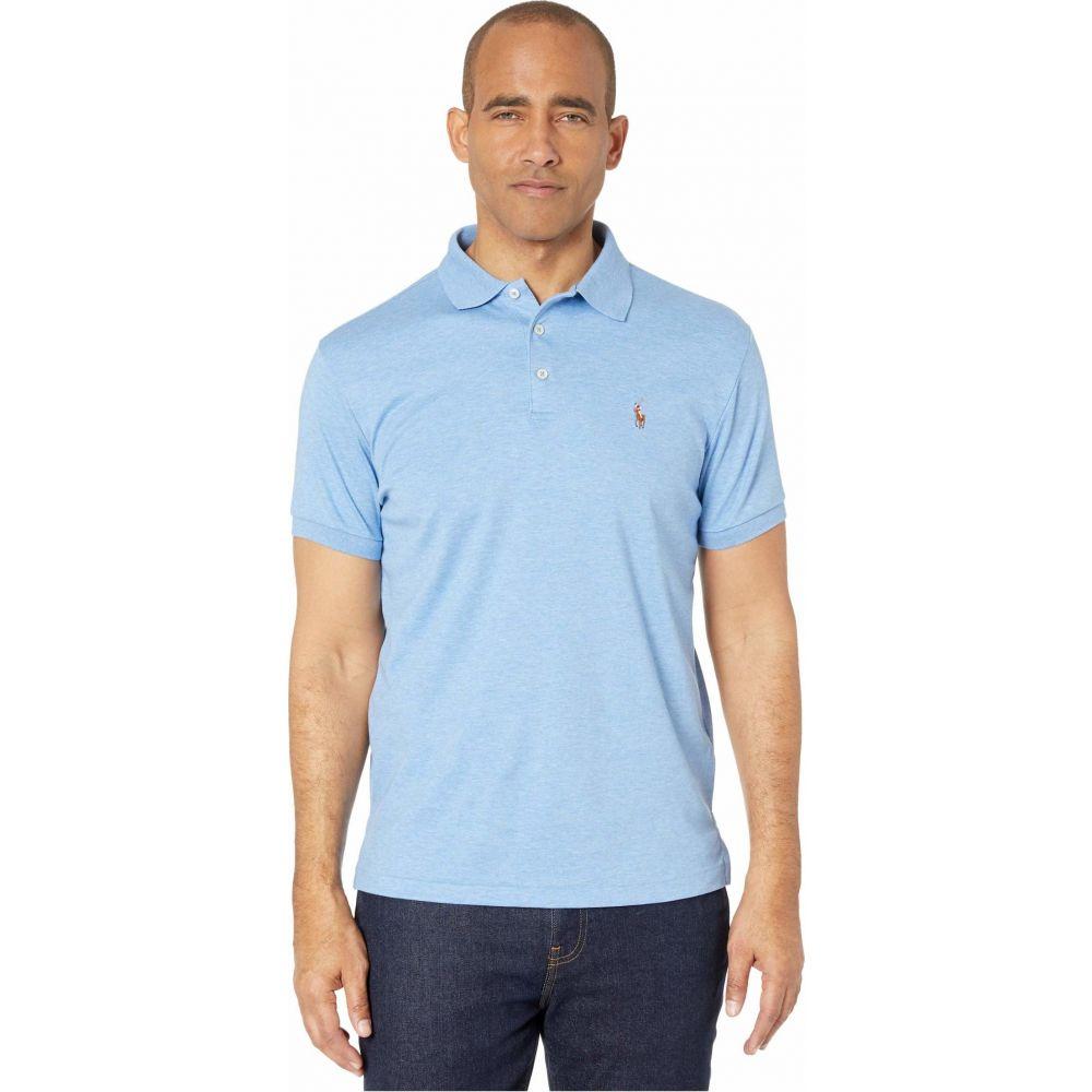 ラルフ ローレン Polo Ralph Lauren メンズ ポロシャツ トップス【Custom Slim Fit Soft Touch Polo】Blue