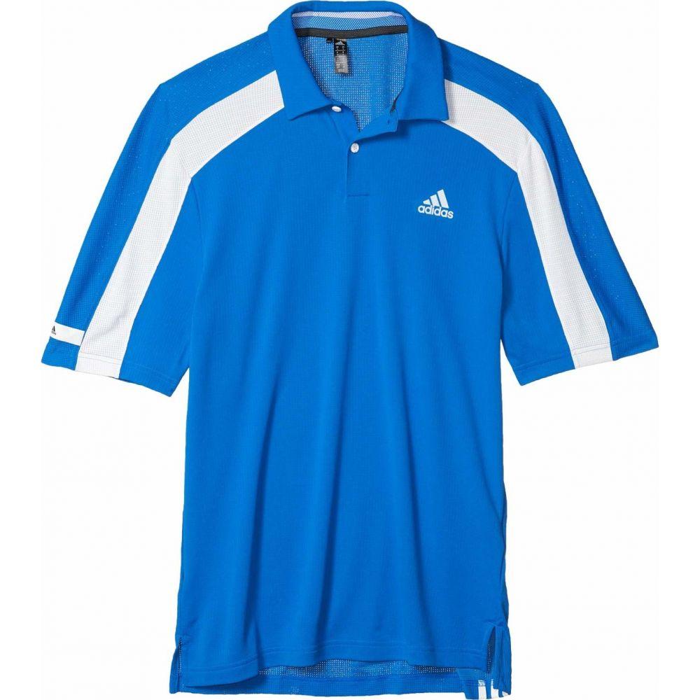 アディダス adidas Golf メンズ ポロシャツ トップス【Sport Heat.Rdy Polo Shirt】Glory Blue