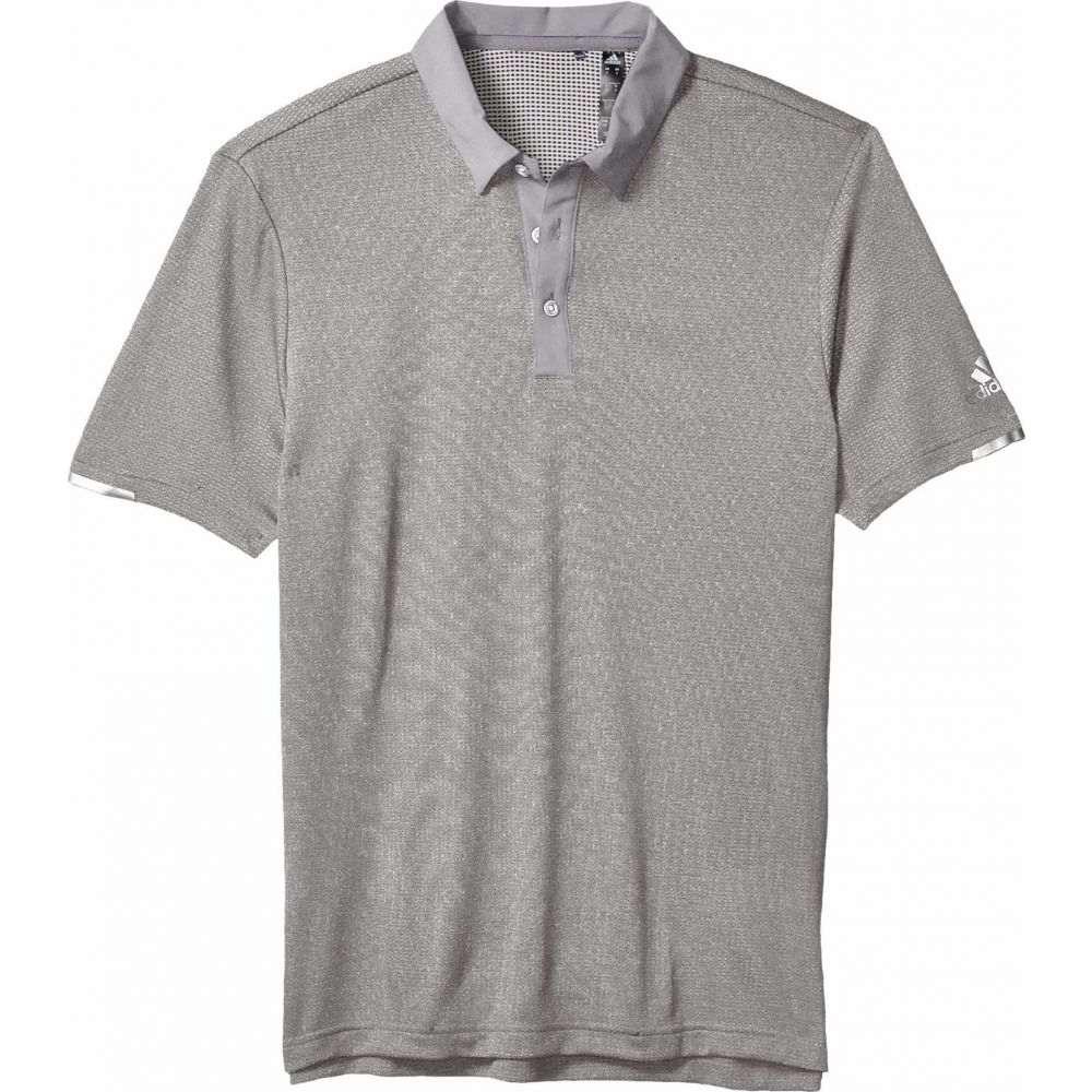 アディダス adidas Golf メンズ ポロシャツ トップス【Heat.Rdy Base Polo Shirt】Grey Three Melange