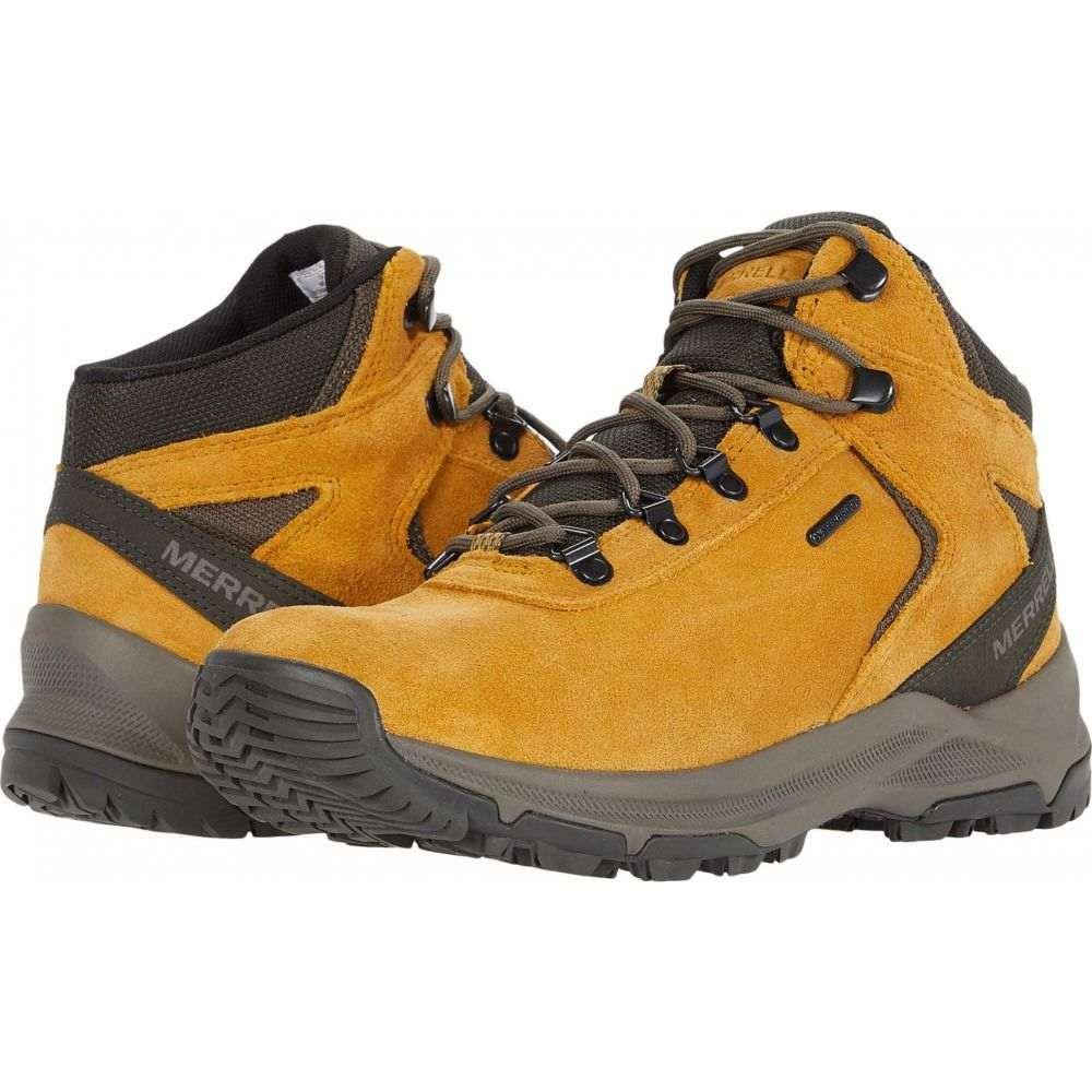 メレル メンズ ハイキング 登山 シューズ 靴 期間限定の激安セール デポー サイズ交換無料 Mid Waterproof Merrell Erie