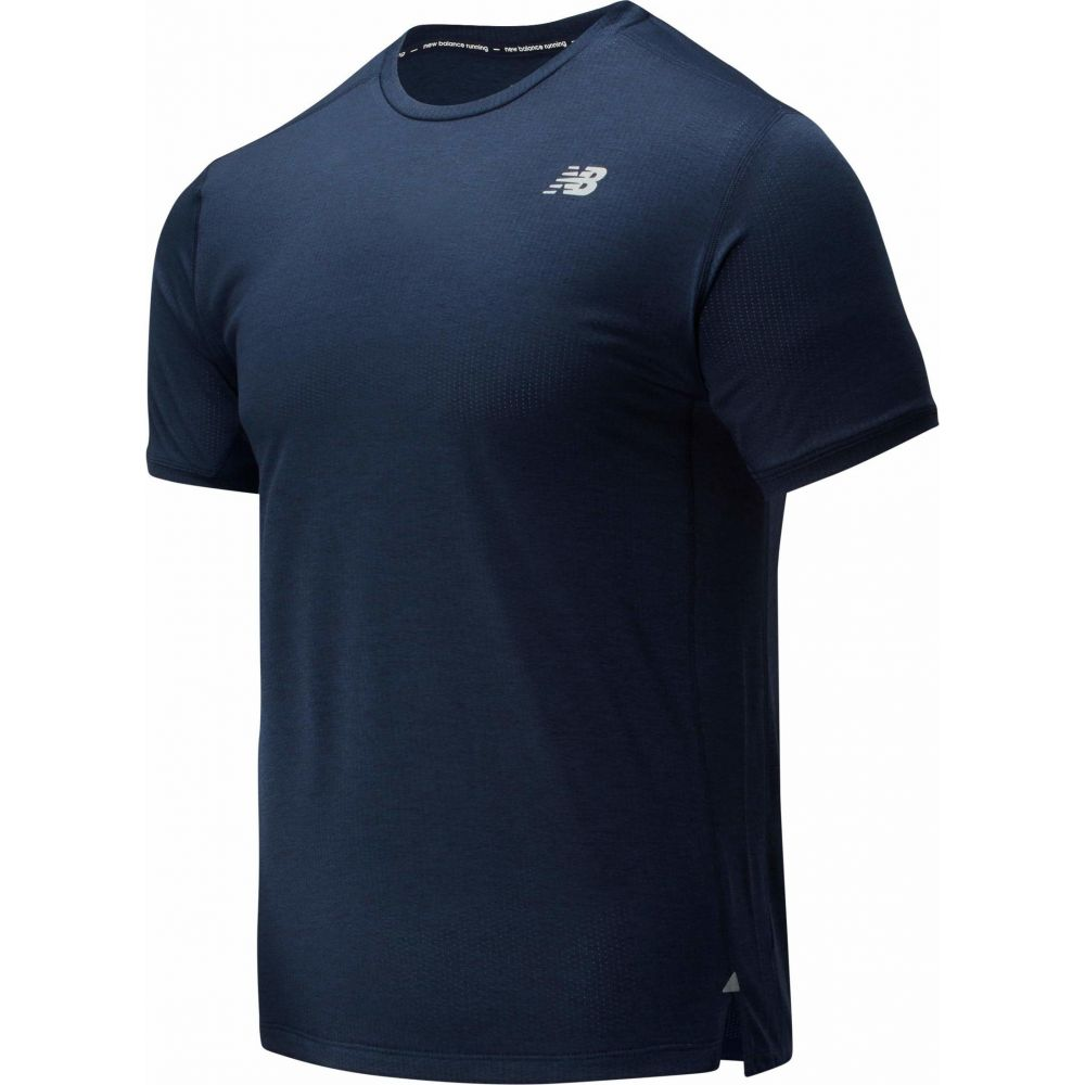ニューバランス New Balance メンズ Tシャツ トップス【Impact Run Short Sleeve Tee】Eclipse Heather