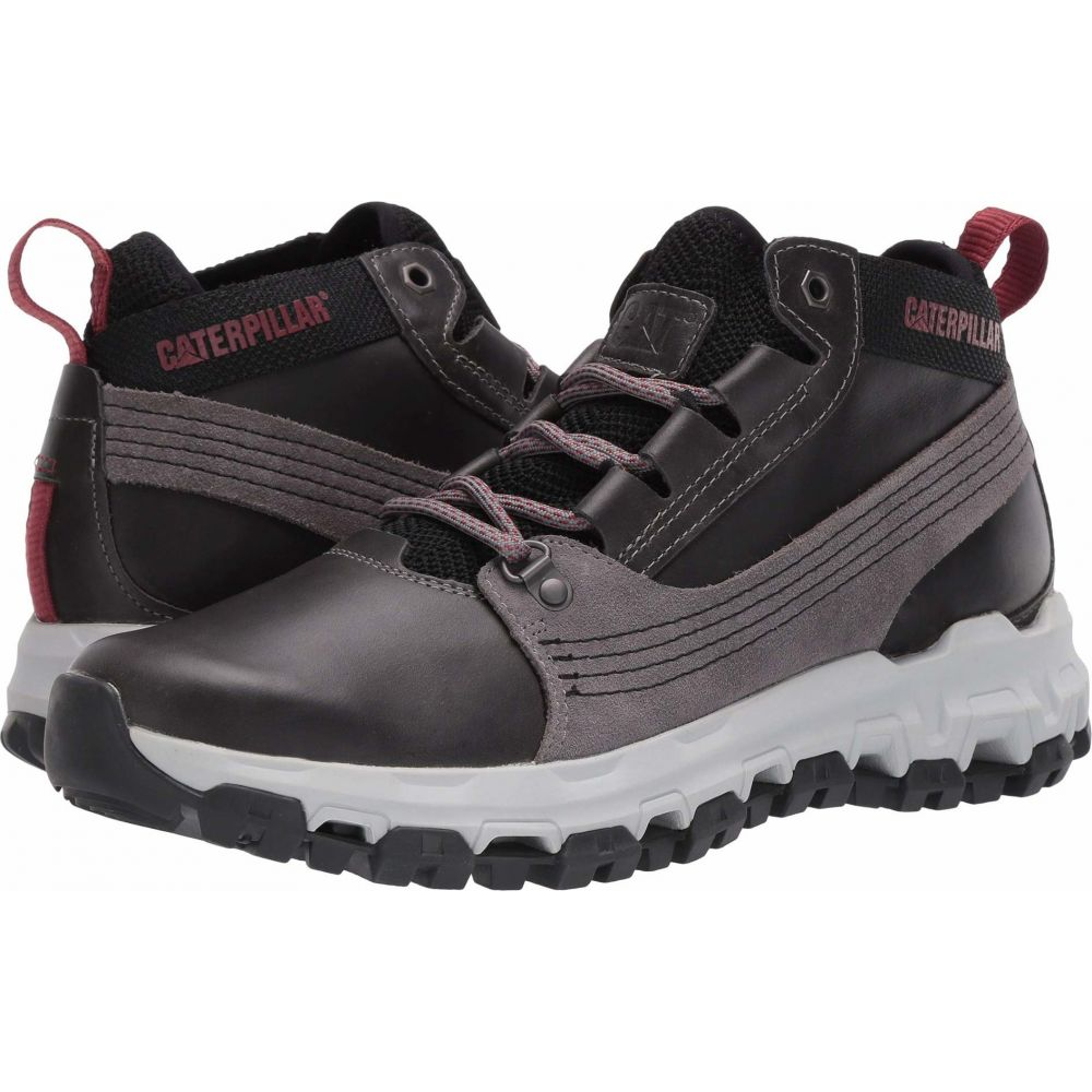 キャピタラー カジュアル メンズ ハイキング 登山 シューズ 数量は多 靴 Medium Caterpillar Casual Charcoal Urban 人気ブランド多数対象 Tracks Hiker サイズ交換無料