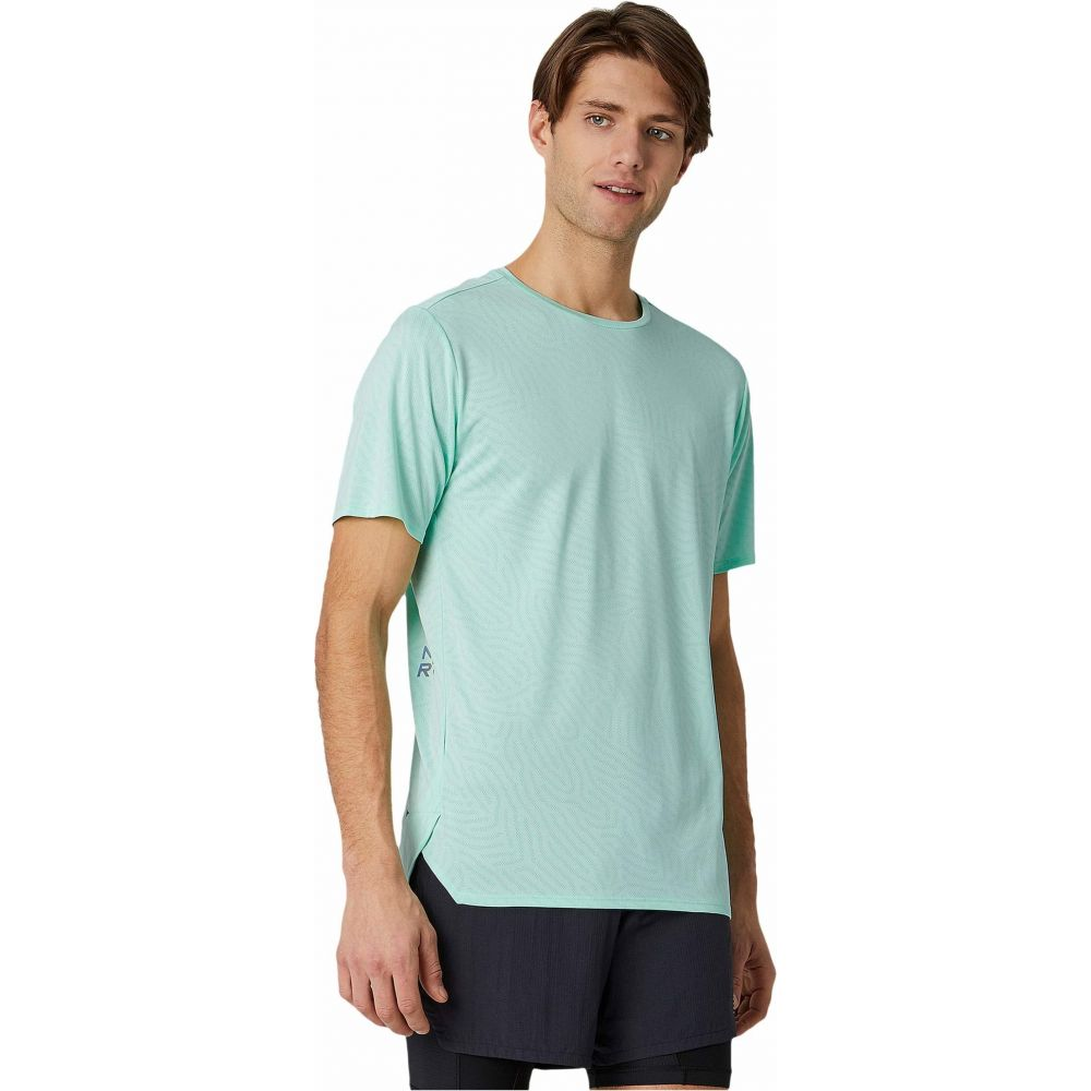 ニューバランス New Balance メンズ Tシャツ トップス【Q Speed Jacquard Short Sleeve Tee】New Mint Heather