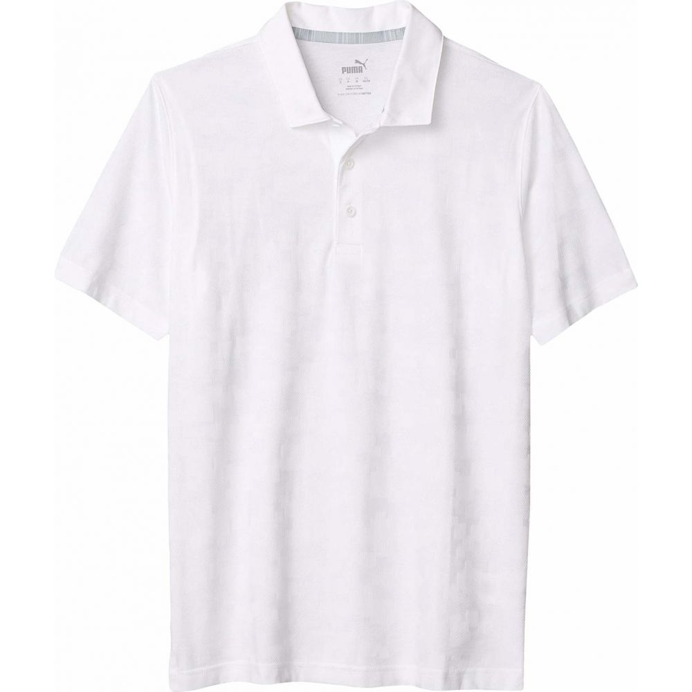 プーマ PUMA Golf メンズ ポロシャツ トップス【Alterknit Digi Camo Polo】Bright White