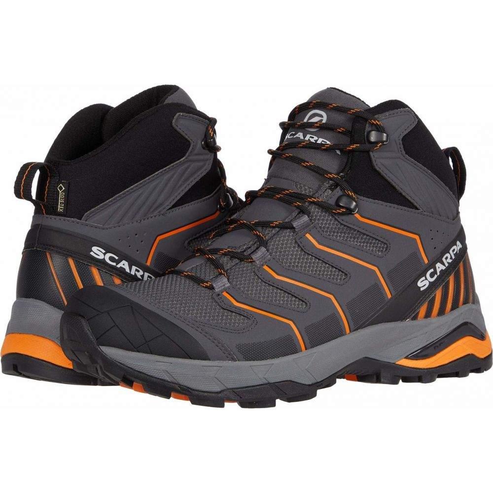 スカルパ メンズ ハイキング 登山 シューズ 春の新作シューズ満載 靴 Iron GTX サイズ交換無料 Mid Orange 流行 Maverick Grey Scarpa