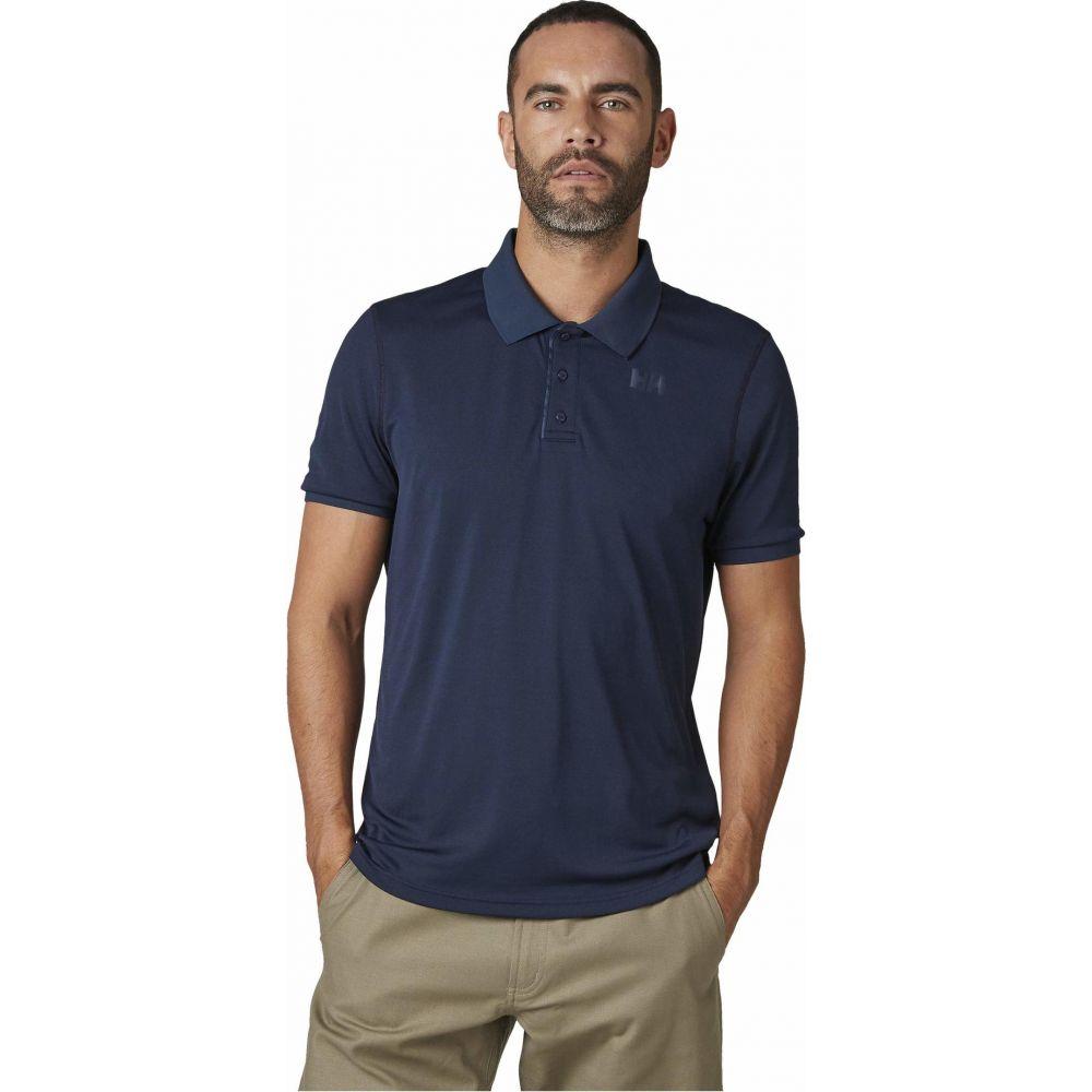 ヘリーハンセン Helly Hansen メンズ ポロシャツ 半袖 トップス【Lifa Active Solen Short Sleeve Polo】Navy