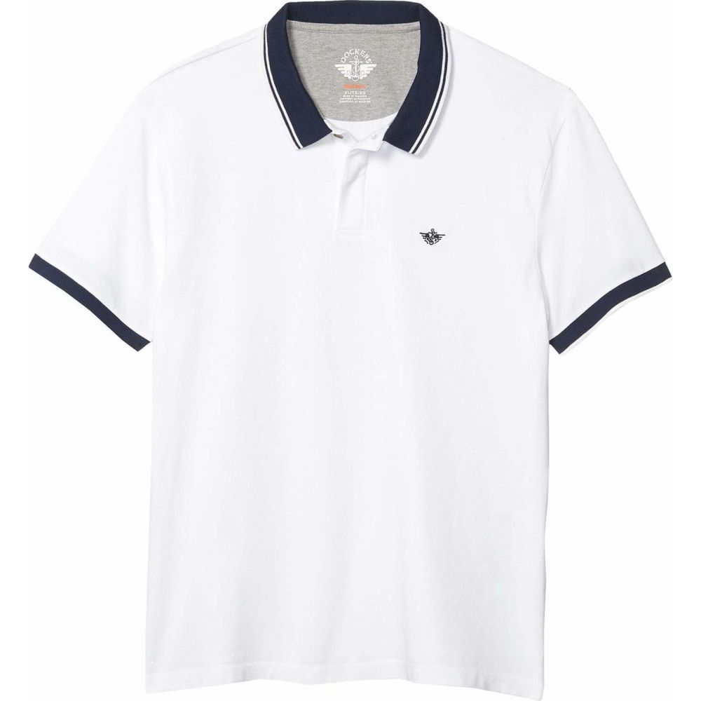 ドッカーズ Dockers メンズ ポロシャツ トップス【Smart 360 Flex Pique Performance Polo】Paper White