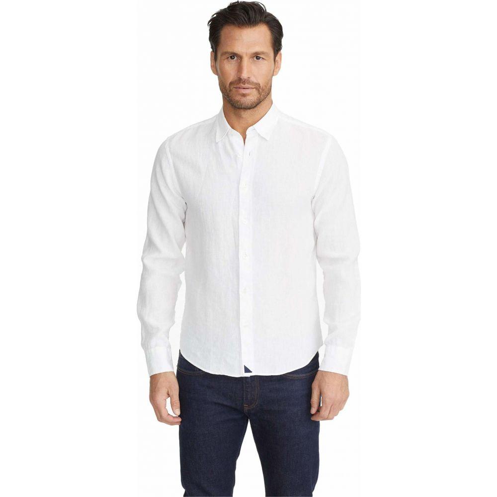アンタックイット UNTUCKit メンズ シャツ トップス【Wrinkle-Resistant Linen Shirt】White