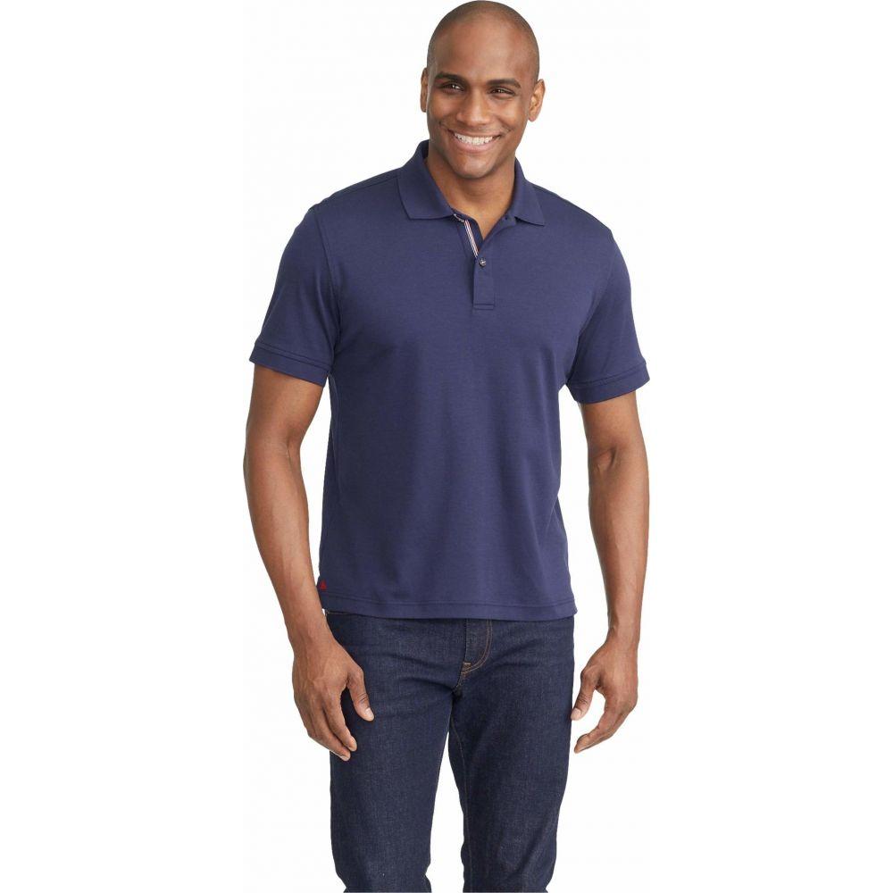 アンタックイット UNTUCKit メンズ ポロシャツ トップス【Wrinkle-Free Damaschino Polo】Navy
