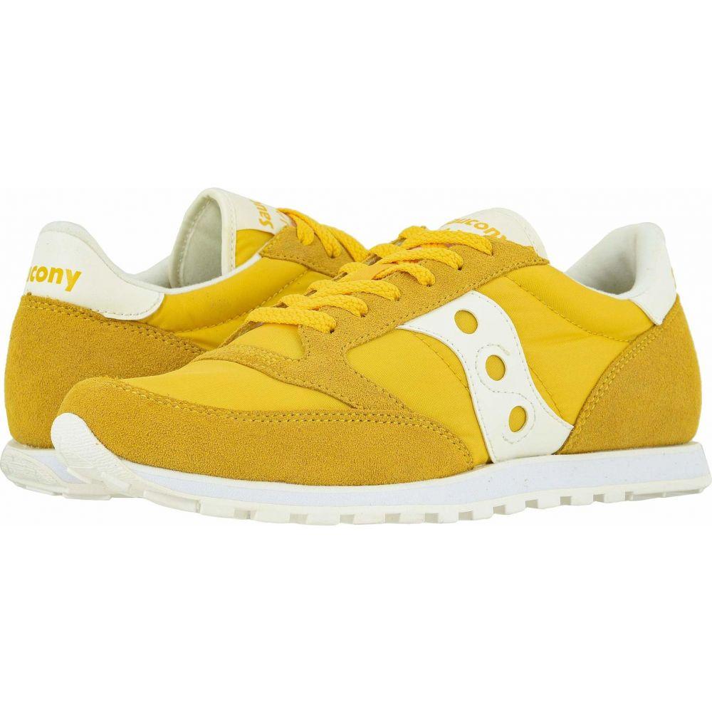 サッカニー Saucony Originals メンズ スニーカー シューズ・靴【Jazz Low Pro】Yellow/Sand